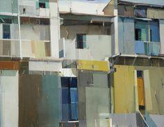 darksilenceinsuburbia:  Suhas Bhujbal. A Quiet Town, 2012. Oil...