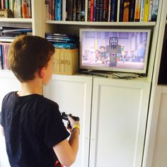 Why it's ok for my autistic son to be playing Minecraft on a sunny day - Anthony plays on Minecraft Story Mode