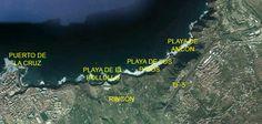 Playas de La Orotava - Tenerife Tenerife, Canary Islands, Boat, History, Beaches, Islands, Teneriffe, Dinghy, Canarian Islands