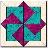 Twisting Star Block block www.- Twisting Star Block block www. Star Quilt Blocks, Star Quilts, Mini Quilts, Block Quilt, Patchwork Quilting, Scrappy Quilts, Barn Quilt Patterns, Pattern Blocks, Free Quilt Block Patterns