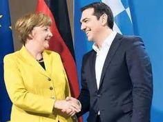 Grecia Merkel Tzipras