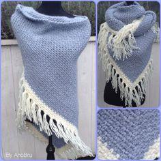 Omslagdoek met Julia wol gemaakt,  nld 10! Heerlijk warm!