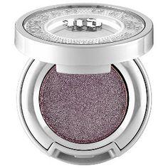Urban Decay Moondust Eyeshadow in Intergalactic - medium purple with bright silver sparkle #sephora