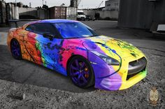 Nissan GTR R35 Art car