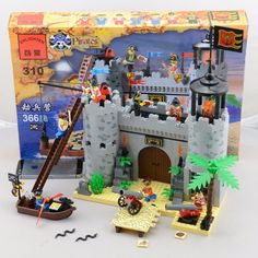 28.90$  Buy now - http://alib92.shopchina.info/go.php?t=32748953855 - City pirate castle 310 3D blocks Educational model & building toys hobbies for children model building kits compatible with 310 28.90$ #aliexpresschina