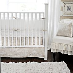 simple - vintage nursery (and gender neutral!)