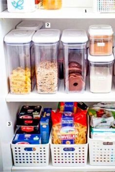 Organizing life in my kitchen! Small Pantry Cabinet Organization Ideas - How To Organize a Small Kitchen without a Pantry Small apartment organization ideas and organizing tips for small kitchens. How to organize food with NO pantry solutions