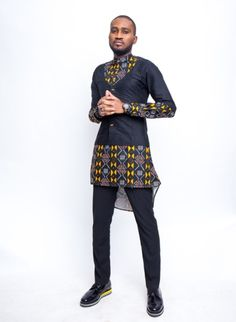 University of Middlesex graduate of Fashion Design,Tessy Oliseh-Amaize has unveiled a new menswear collection tagged 'Scissors'. The Creative Director of - BellaNaija Style. July 22, 2018