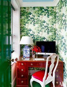 Office Nook | Chinoiserie Chic | Bloglovin'
