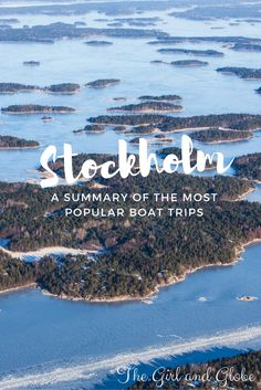 How do you decide which Stockholm archipelago cruise to take? This guides summarizes options for day trips and boat tours.