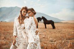 vagabond bridal // bohemian wedding dresses