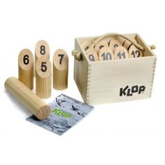 Klop - addictive outdoor game for the whole family. This is a unique gift which will give hours of fun.beware of serious addiction. Picnic Games, Fun Outdoor Games, Camping Games, Outdoor Play, Outdoor Living, Outdoor Activities, Gifts Australia, Man Of The House, Beach Toys