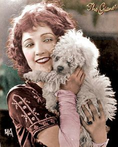 0 Constance Talmadge and dog