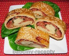 Kynutý slaný závin French Toast, Pizza, Chicken, Breakfast, Ethnic Recipes, Food, Morning Coffee, Essen, Meals