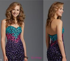 Coming soon--we love this dress from Clarisse - perfect for homecoming dance or evening and special event - http://www.prom-avenue.com