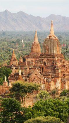 Los tesoros de Myanmar