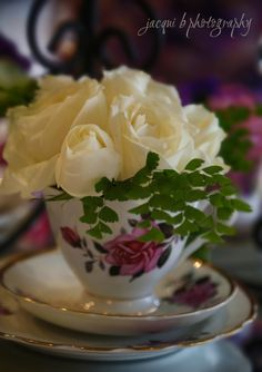 Teacups and Roses by Buds 'n' Roses in Pakenham Victoria