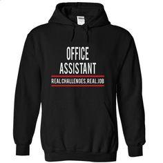 OFFICE ASSISTANT - real job - #victoria secret sweatshirt #cat sweatshirt. GET YOURS => https://www.sunfrog.com/Funny/OFFICE-ASSISTANT--real-job-4780-Black-4858009-Hoodie.html?68278