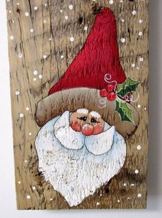 Welcome Sign Welcome Sign with Santa Hand by barbsheartstrokes More Más Christmas Wood Crafts, Christmas Signs, Rustic Christmas, Christmas Art, Christmas Projects, Winter Christmas, Holiday Crafts, Christmas Ornaments, Wood Ornaments