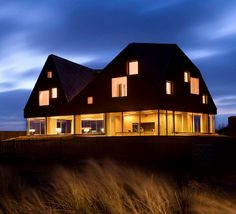 The Dune House. A New Stunning Modern Beach Home in the Village of Thorpeness. - if it's hip, it's here