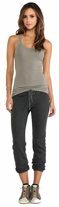 casual sporty Comfy chic James Perse