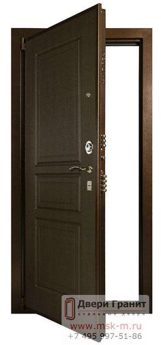 """Отличная металлическая дверь от компании """"Двери Гранит"""" #Москва"""