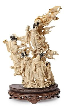A beautiful Ivory carving.