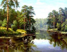 Игорь Прищепа - русский пейзажист из Казани