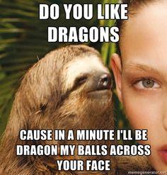 Rape Sloth!