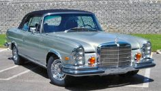 mercedes 1970 - this is the type of car that Laila see's outside of Mariams house