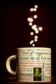 A Cup of Bokeh (Shakespearean insult-version)