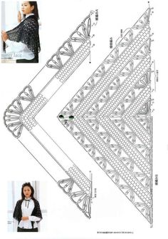 Exceptional Stitches Make a Crochet Hat Ideas. Extraordinary Stitches Make a Crochet Hat Ideas. Poncho Au Crochet, Crochet Shawl Diagram, Pull Crochet, Crochet Cape, Crochet Motifs, Crochet Shawls And Wraps, Crochet Stitches Patterns, Knitted Shawls, Crochet Scarves