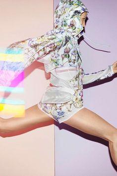 #Run like the wind in this #StellaMacCartney for Adidas. #beactive #runfortheheart