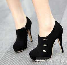 Black Stiletto Heels Ankle Booties   http://www.tidestore.com/product/Fashion-Upper-Stiletto-Heels-Closed-Toe-Womens-Shoes-10170320.html?utm_source=shiyebu_medium=facebook_cpc_campaign=20130822_31