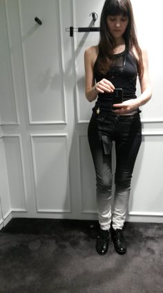 ...my new Karl Lagerfel Jeans!