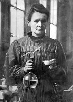 Marie Skłodowska-Curie (1867–1934) Born in Poland, she moved to France in 1891. She is the first woman to receive a Nobel Prize (physics 1903). She received a second Nobel Prize in 1911, this time in chemistry. Marie and Pierre Curie isolated polonium and radium. She actively promoted the use of radium for medical purposes throughout her life.
