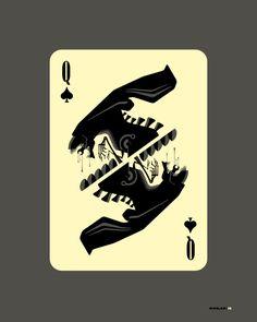 Tom Whalen Queen of Spades