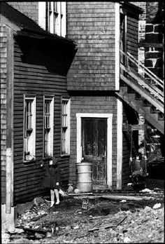 Ian MacEachern Children, Sewell Street, Saint John, NB, 1965 presented by Stephen Bulger Gallery Saint John, Artwork Display, Saints, Street, Children, Gallery, Santos, San Juan, Boys