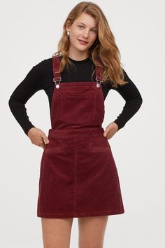 Teen Fashion Outfits, Trendy Outfits, Trendy Fashion, Korean Fashion, Fashion Dresses, Cute Outfits, Grunge Outfits, Maxi Dresses, Corduroy Overall Dress
