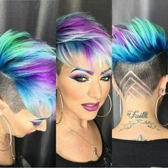 28 Beautiful Modern of Crazy Hairstyles Short - .- 28 Schönen Modern of Verrückte Frisuren Kurz – 28 beautiful modern of crazy hairstyles short – # Fine # Crazy - Funky Hairstyles, Pretty Hairstyles, Hairstyle Ideas, Corte Y Color, Pixie Haircut, Short Hair Cuts, Short Pixie, Pixie Cuts, Short Hair Styles Shaved