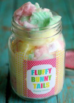 Fluffy Bunny Tails - Delish.com