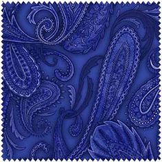 5697 Fab Henry Glass Paisley Fabric, Paisley Pattern, Fabric Board, Cowboy And Cowgirl, New Pins, Shades Of Blue, Color Blocking, Lilac, Quilts