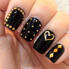 nails.quenalbertini: Valentine's Nail Art