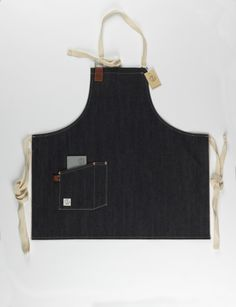 Dawson Denim's Barista apron. Handmade in Brighton from Japanese Red Line selvedge. http://www.dawsondenim.com/