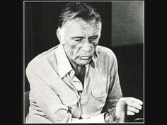 ▶ Richard Burton reads 'Elegy' (for his father) by Dylan Thomas - YouTube