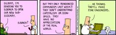 The Dilbert Strip for April 3, 1990