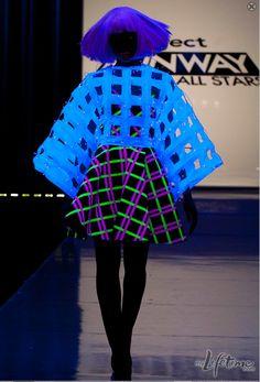 Illuminated Fashion Challenge on Project Runway
