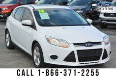Used Ford Focus, Car, Automobile, Vehicles, Autos