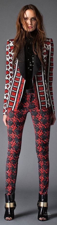 Just Cavalli Pre-Fall 2015 YES!! Those pants are orgasm on a stick!