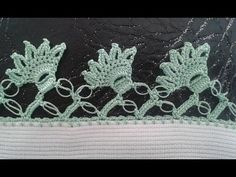This Pin was discovered by Ner Needle Lace, Knit Crochet, Diy And Crafts, Crochet Earrings, Cross Stitch, Lily, Knitting, Crochet Flowers, Crochet Edgings